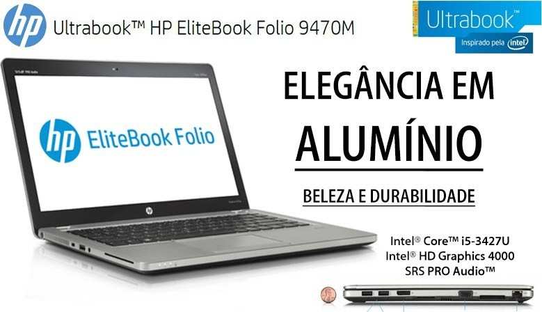 PREMIUM ULTRABOOK HP Elitebook Folio