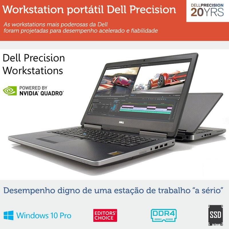 Workstation portátil Dell Precision